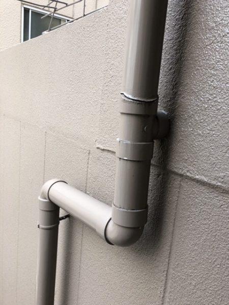 八尾市 共用排水管交換工事