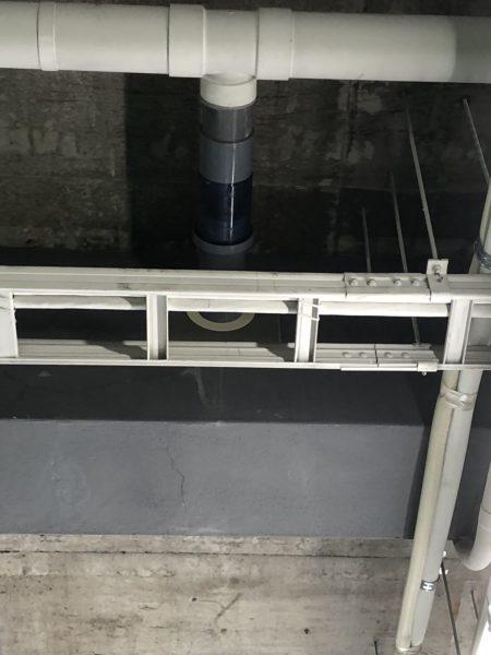 住吉区 共用排水管からの漏水