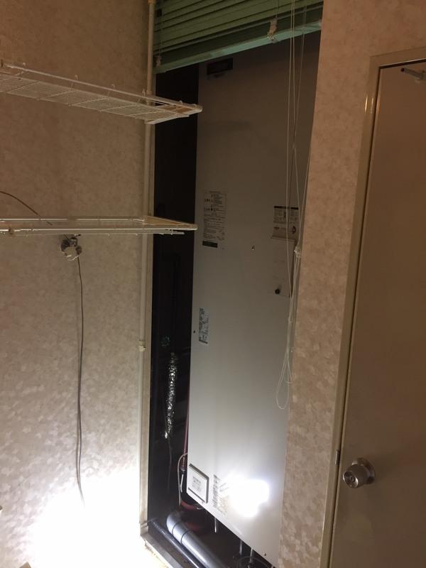 東大阪市 電気温水器交換工事
