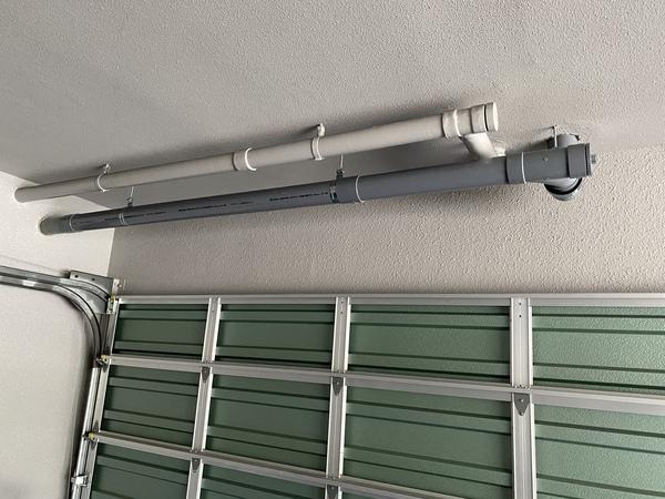 松原市で共用排水管の切り替え